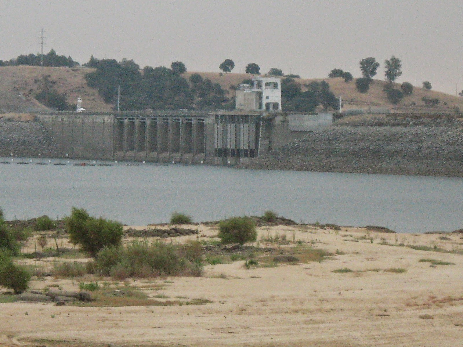 Folsom Lake, in a Drought Year