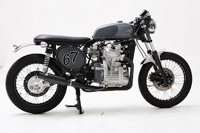 Custom Honda CX500 Cafe