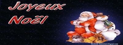 couverture facebook joyeux noel