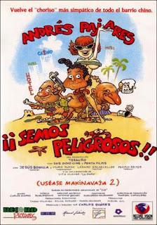 "ESPECIAL VERANO. DIA 24: ""¡Semos peligrosos! (uséase Makinavaja 2)"" (1993) de Carlos Suarez"