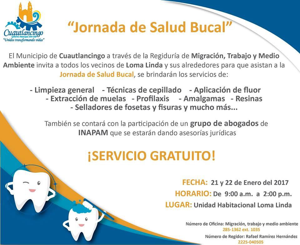 Jornada de Salud Bucal en Cuautlancingo