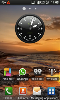 Android Widget - Clock