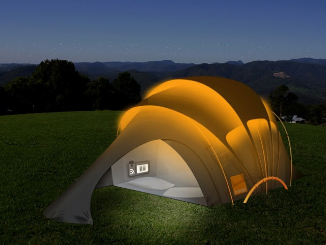 умная палатка для похода