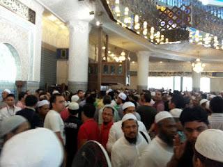Imam Masjid Negara Ditampar Semasa Imamkan Solat Jumaat Sebentar Tadi