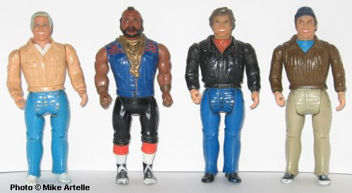 A Team Action Figures