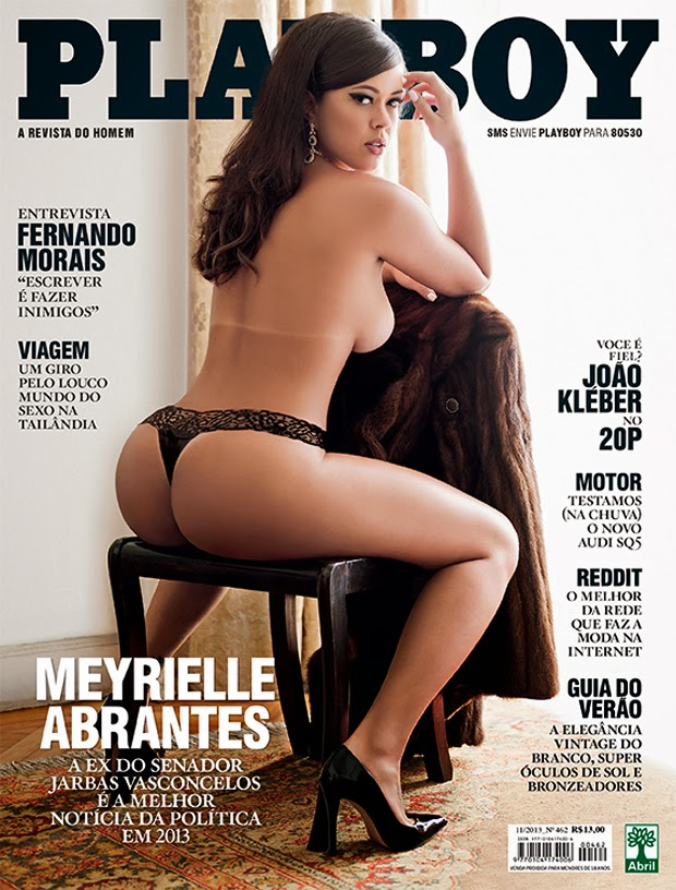 capa Download   Playboy : Meyrielle Abrantes   Novembro 2013