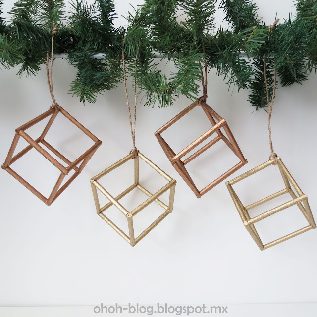 Christmas cube / Adorno navideño