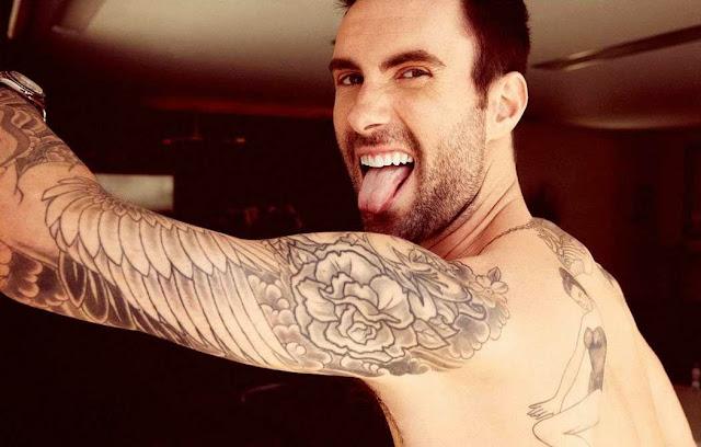 Foto Adam Levine - vokalis Maroon 5