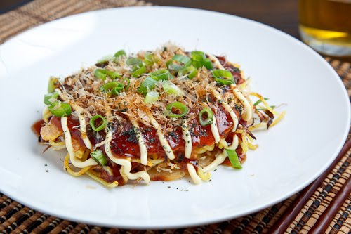 Okonomiyaki (Hiroshima Style)