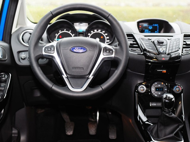 Ford Fiesta 2013 new interior