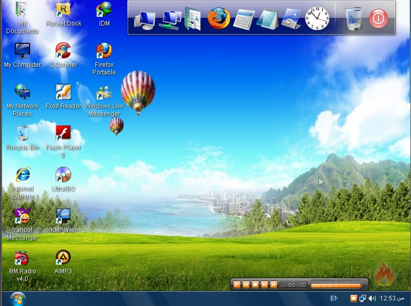 Download Tampilan Desktop Windows 7 Untuk Xp