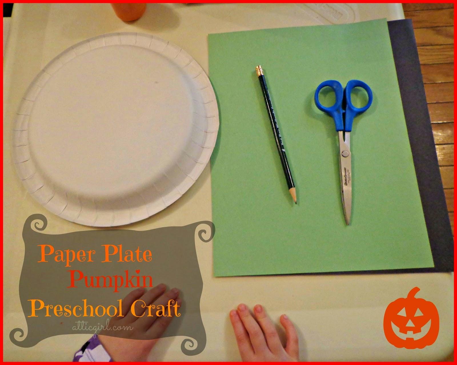 Paper Plate Pumpkin Craft, Books, & More Pumpkin Themed Activities ...
