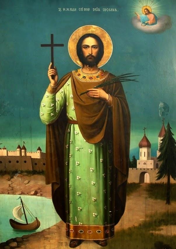Azi 2 iunie praznuirea Sfantului Ioan cel Nou de la Suceava !
