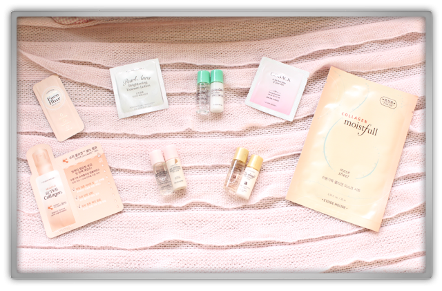 Etude House Haul Review accessories decor kawaii cute pink ebay beauty korean cosmetics dreaming etti samples