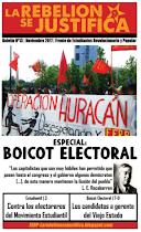 La Rebelión se Justifica N°13, Noviembre 2017