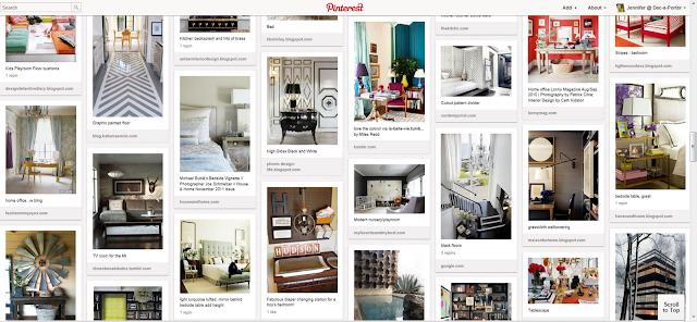 Dec a porter imagination home peek a boo the pinning for Interior design keywords