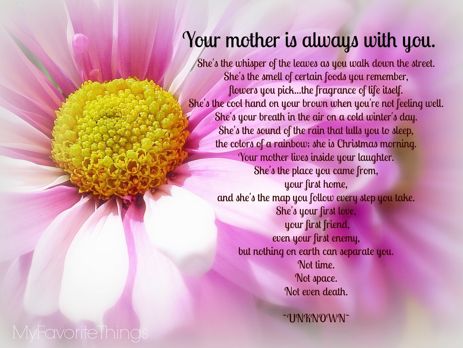 Quotes About Missing A Mother Quotesgram
