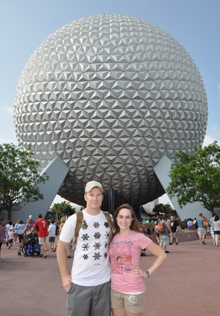 Walt Disney World Honeymoon - EPCOT