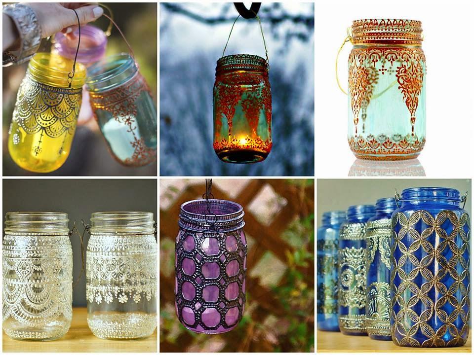 luminária de vidro; porta-velas de vidro