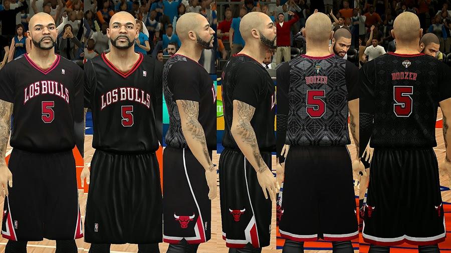 Los Bulls Latin Nights Sleeved Jersey