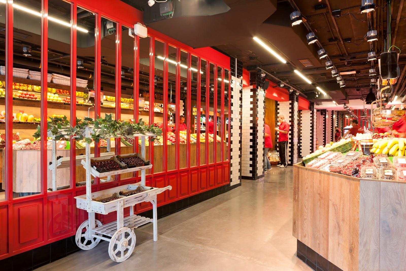 Platea Madrid planta baja floristeria mercado