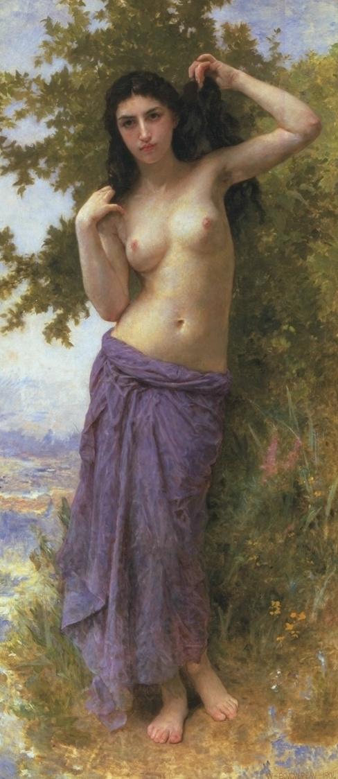 Roman Beauty. 1904. Óleo sobre tela - 180.4 × 81.2 cm