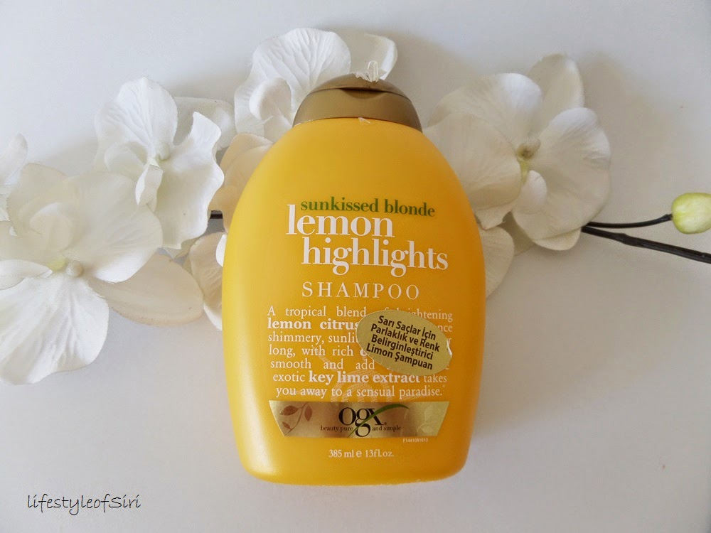 Organix Lemon Highlights Şampuan