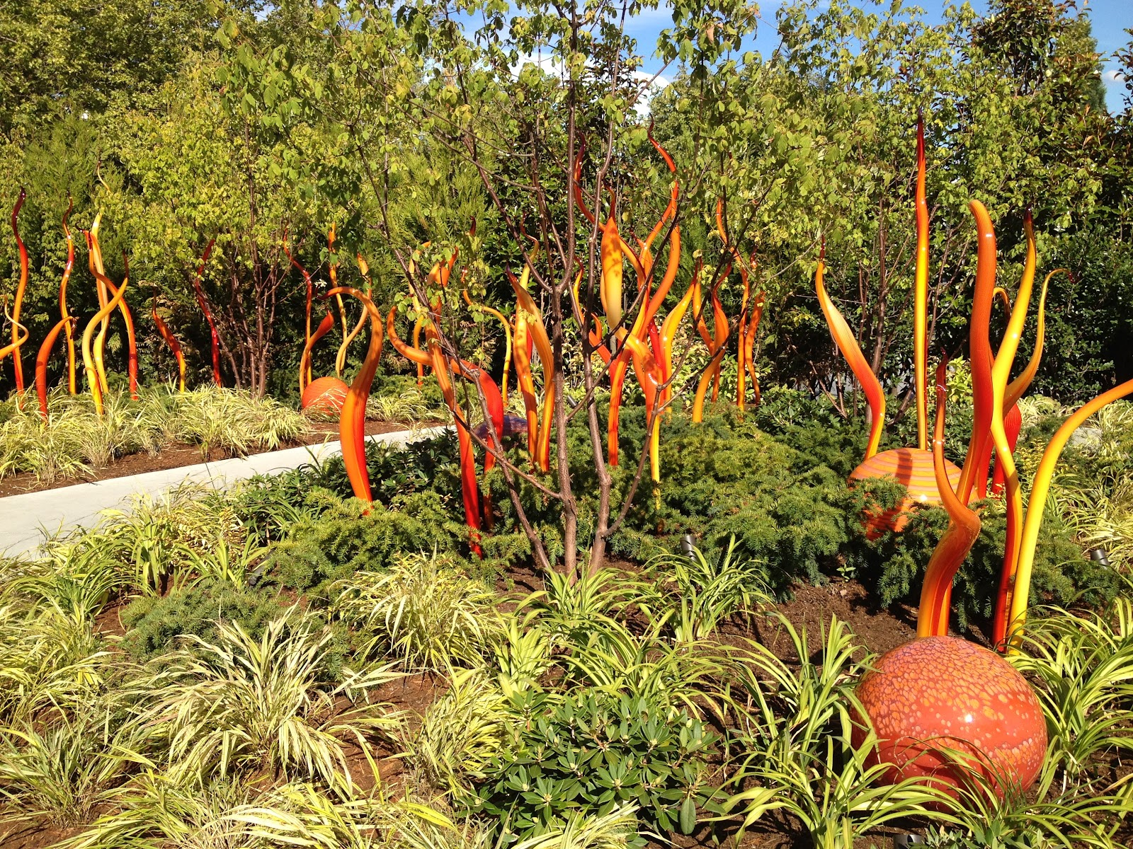 Robin Samiljan Art Blog: Chihuly in Seattle
