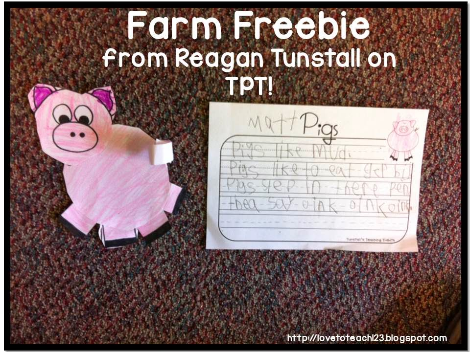 http://www.teacherspayteachers.com/Product/Farm-Friends-Animal-Templates-242536