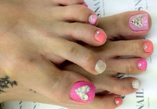 decoraciones para unas de pies