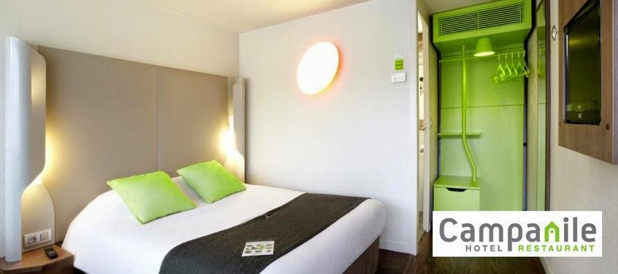Code promo réduction de 10 euros hotel Campanile