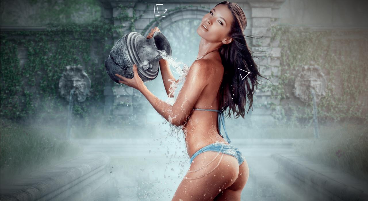 Calendario Tecate 2015- Zodiaco Sexy, Signo Acuario