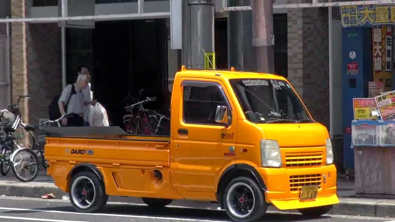 modifikasi mobil pick up kuning