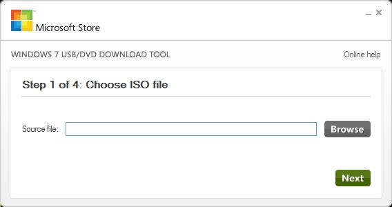 Download Windows 7 USB/DVD Download Tool Terbaru