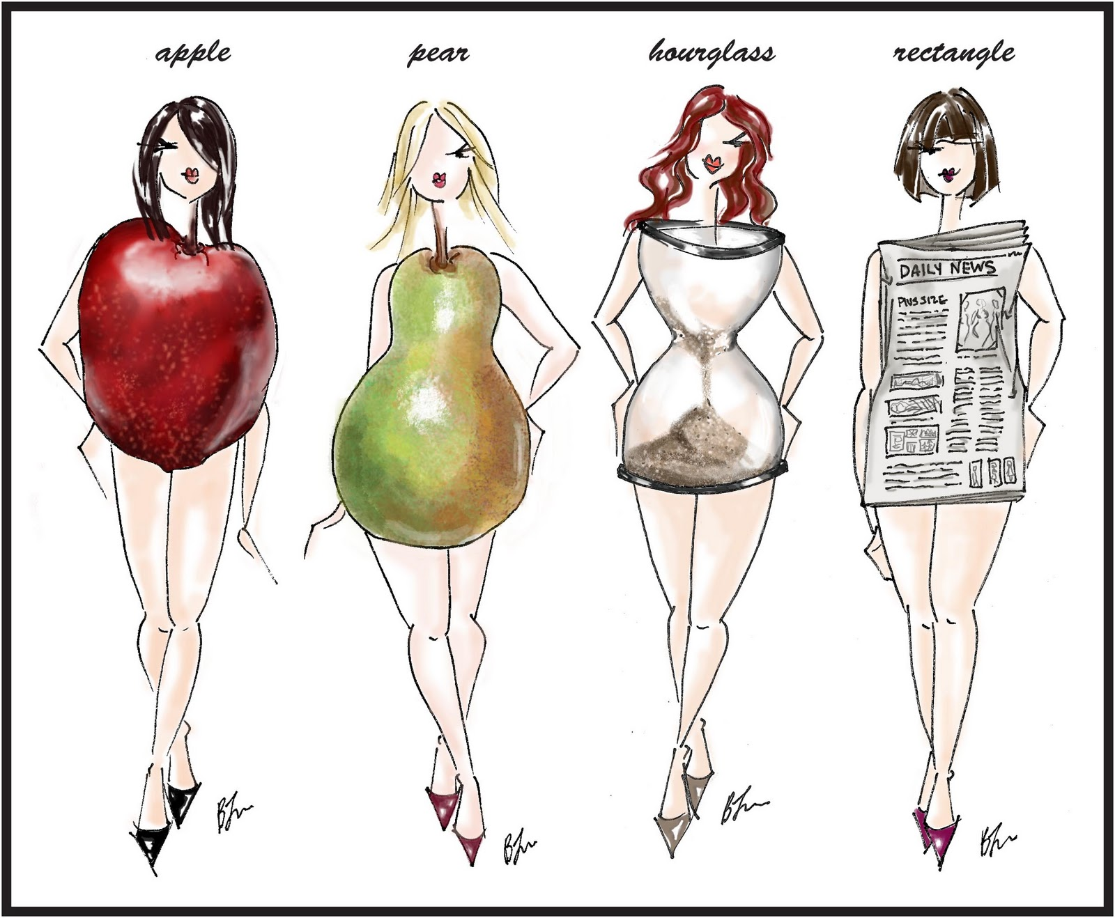 Suzanne\'s Bridal Blog: How to Choose a Wedding Gown For Your Body Type