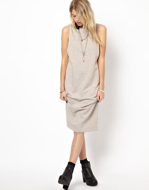 plain cocoon dress