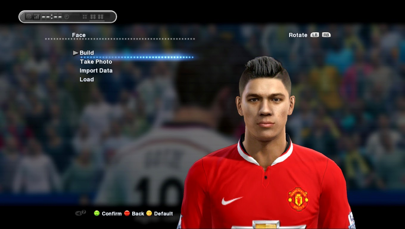 PES 2013 Marcos Rojo HD Face By SantanAji