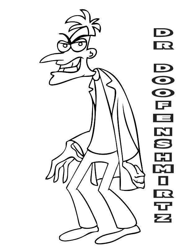 Dibujos Para Colorear De Phineas Y Ferb. Affordable Imgenes Phineas ...