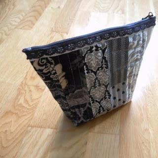 Stricknadel Tasche