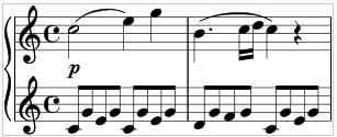 Alberti Bass: Piano Diana