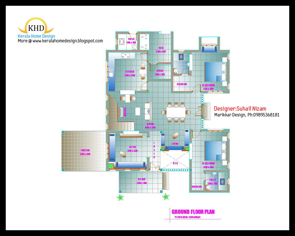 200 Square Meter House Floor Plan