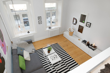 Architecture compact living nordic days by flor linckens for Design apartment 50m2