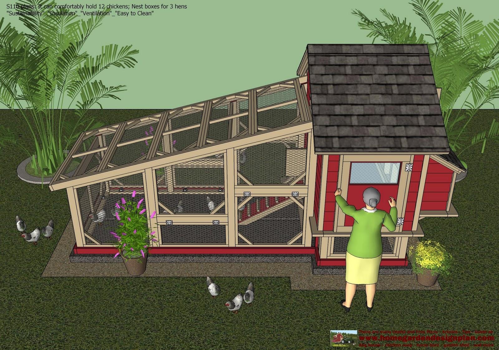 minecraft how to build a chicken coop