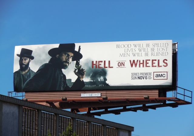 Hell on Wheels billboard