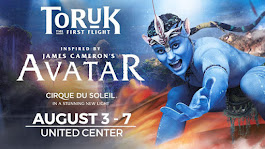 Congrats Kristi Lundine, of 585 entries our 4 tix winner($350 value) to Cirque du Soleil's TORUK