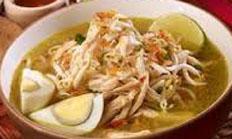 resep masakan indonesia soto kudus spesial praktis, mudah, enak, gurih, lezat