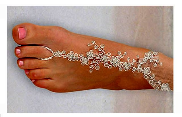 Foot Jewelry Blog Wedding Foot Jewelry at BestBridalPricescom
