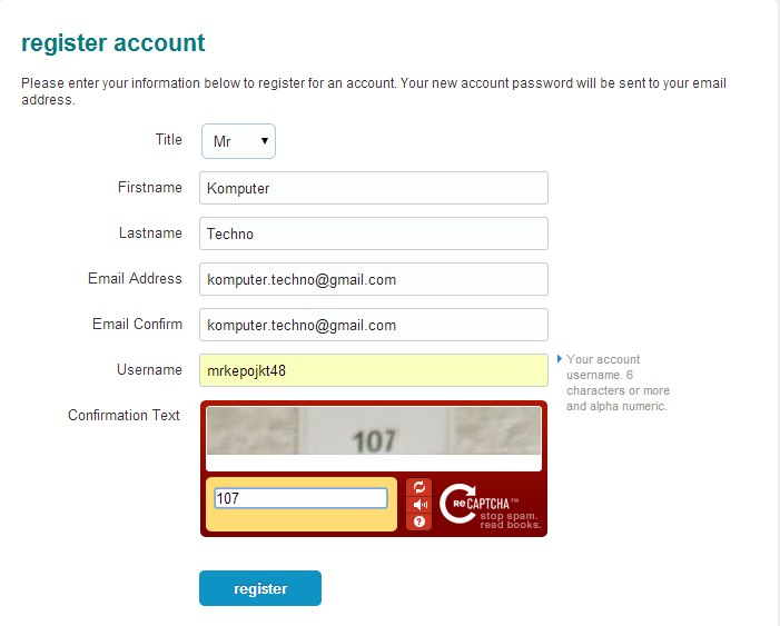 Cara Mendaftar/Register HDSUPER.com