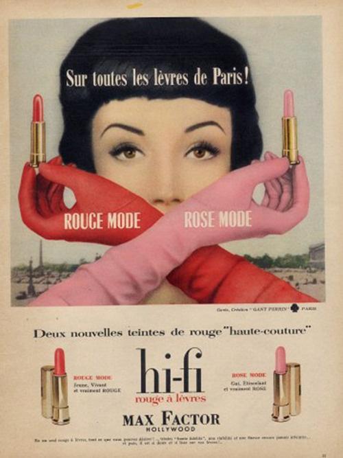 Vintage everyday vintage lipstick ads