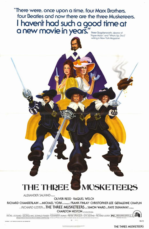 The Three Musketeers 1973 movie poster